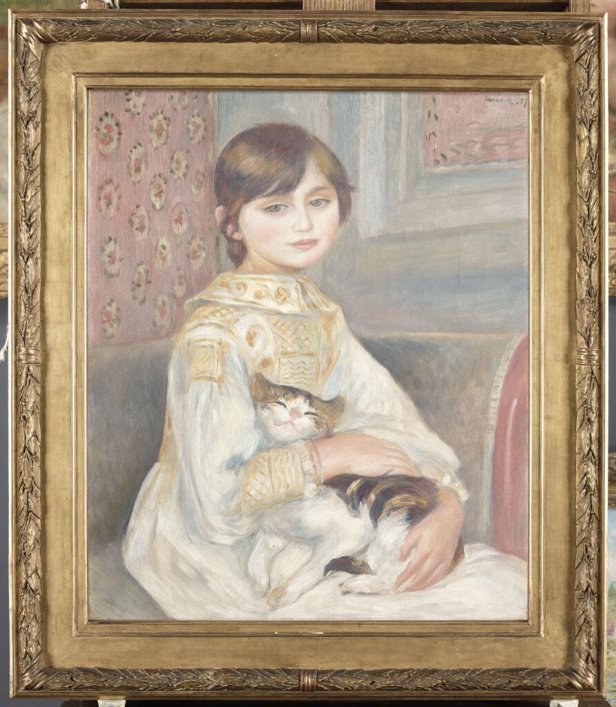 Pierre-Auguste Renoir, Julie Manet ou l'enfant au chat, 1887