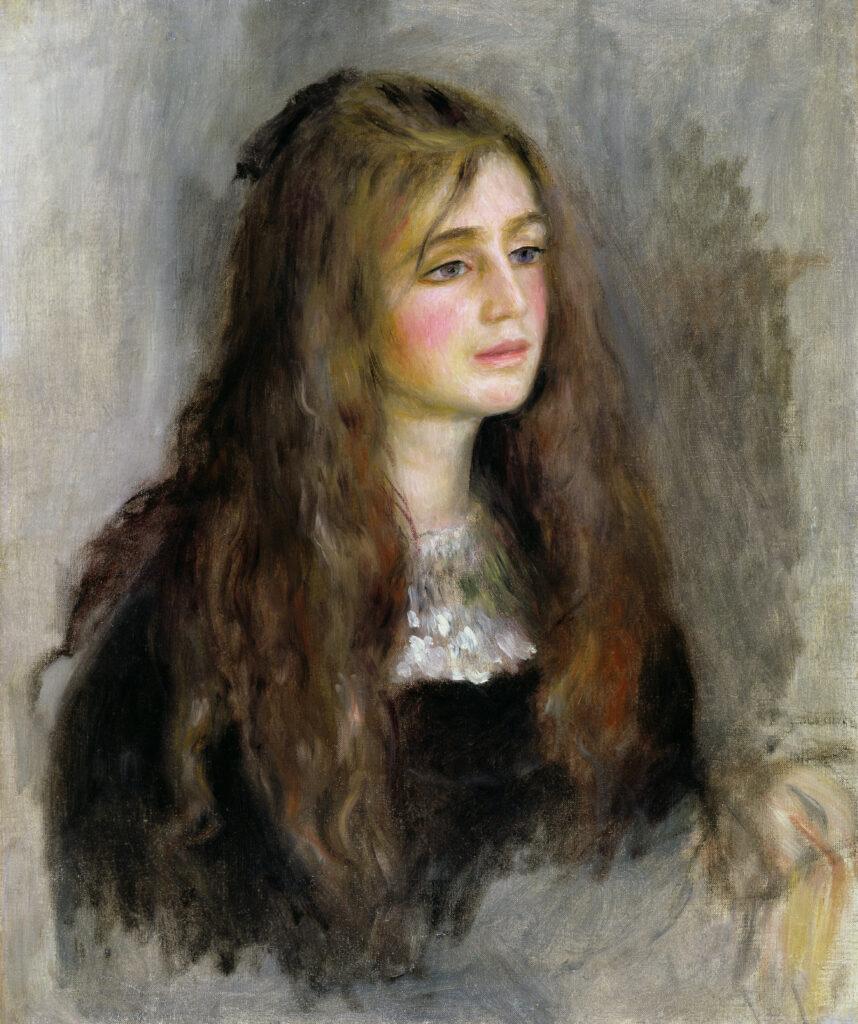 Pierre-Auguste Renoir, Portrait de Julie Manet, 1984