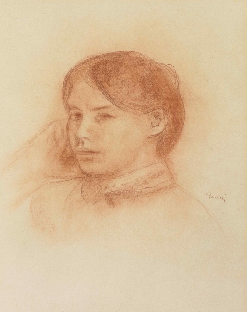 Pierre-Auguste Renoir, Portrait de Paule Gobillard, vers 1885