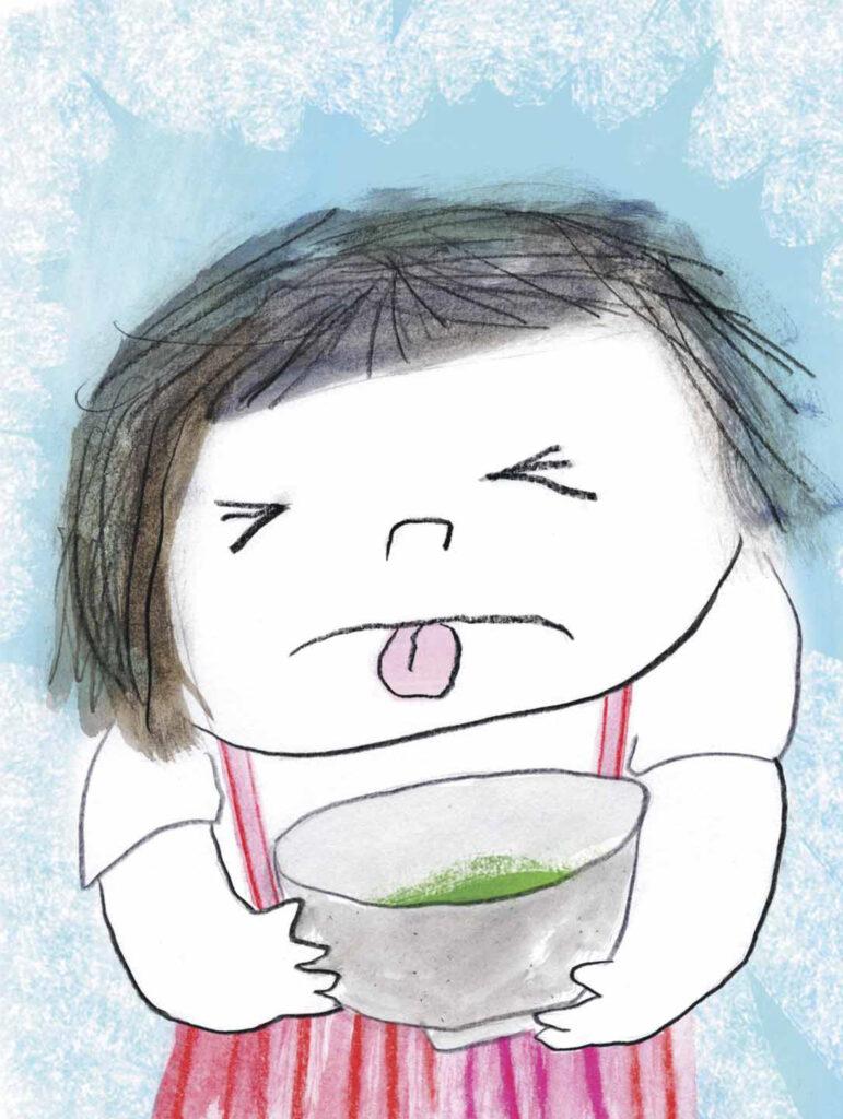 Le personnage de Momoko