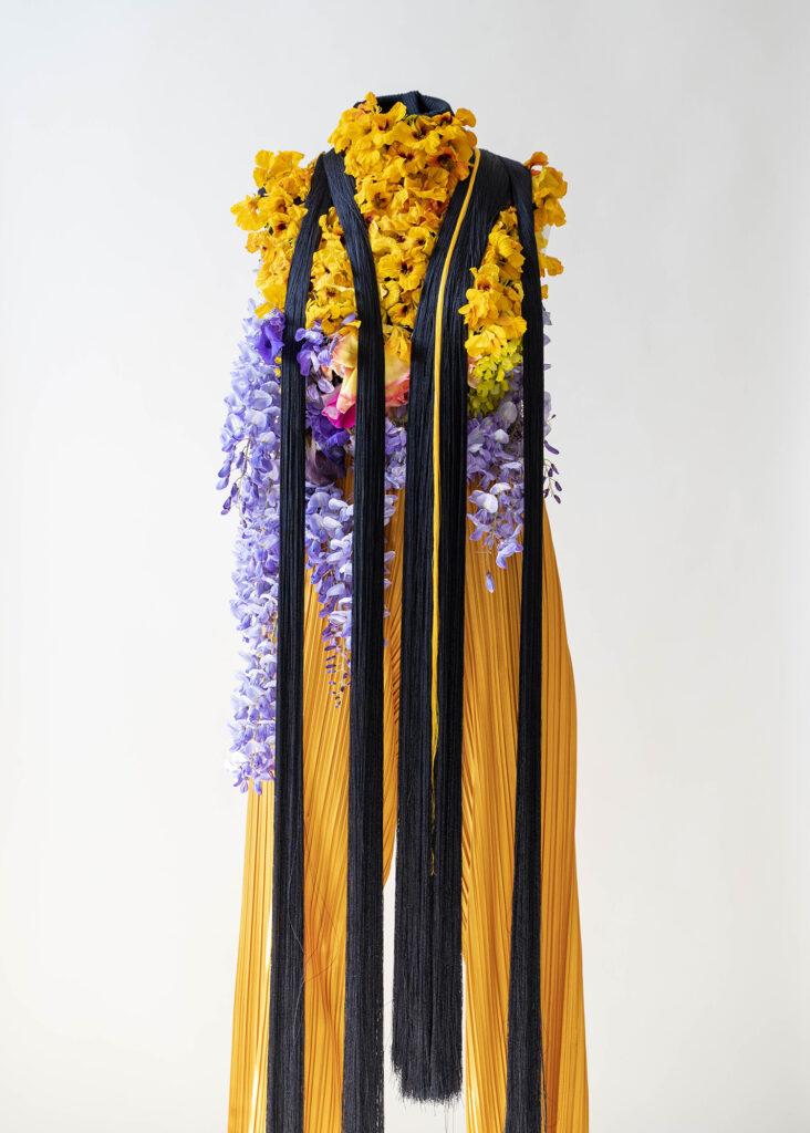Jeanne Vicérial, Quarantaine vestimentaire - JOUR n°37/40 : « Tropaeolum majus » dite Grande Capucine