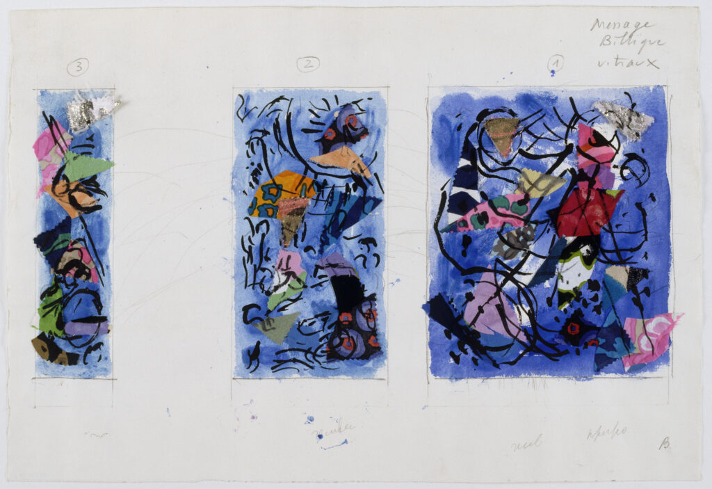 Marc Chagall, Message Biblique, Création du monde