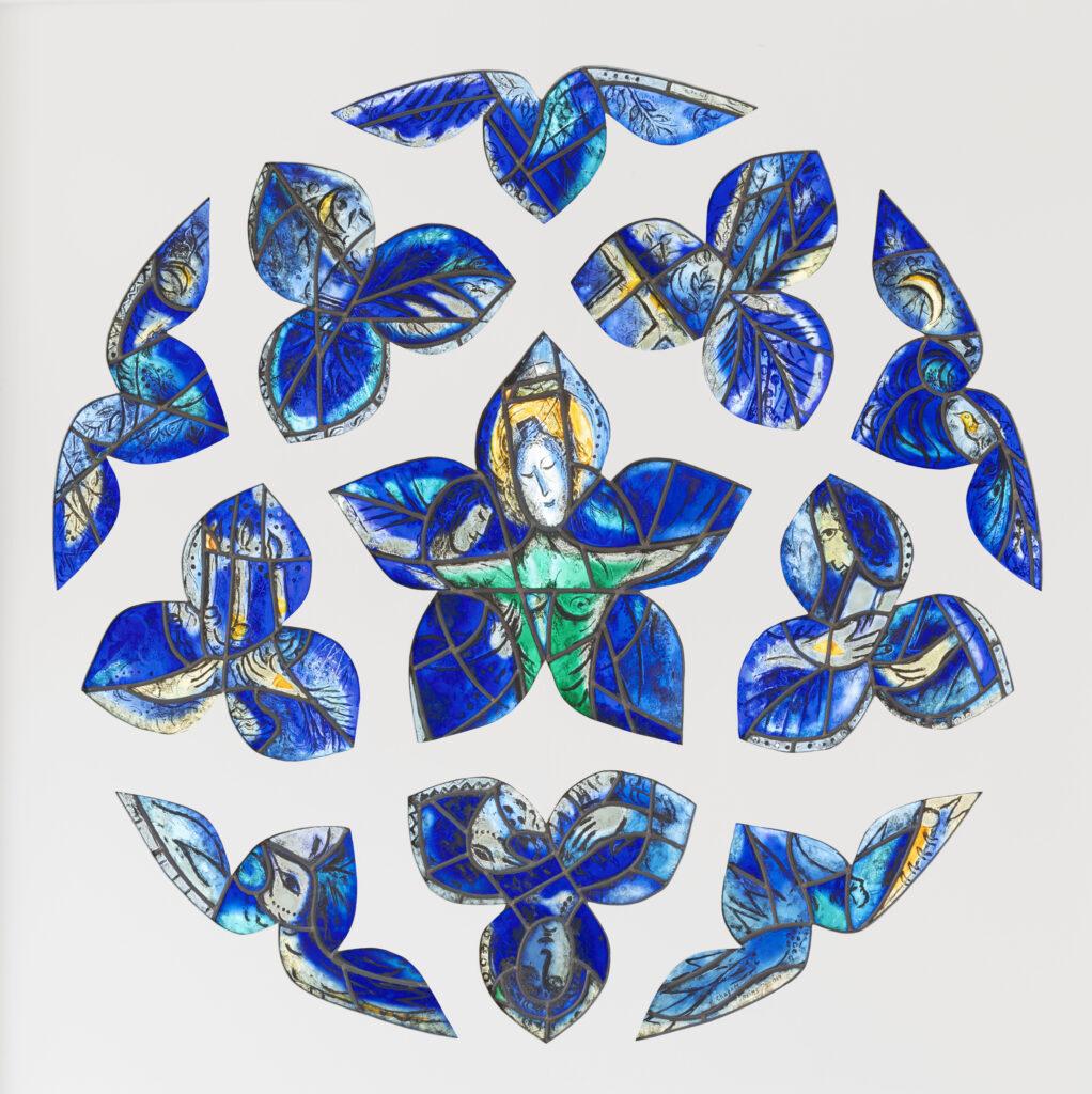 Marc Chagall, La Rose bleue