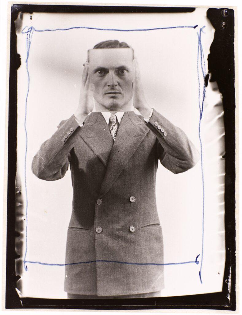 Man Ray, Edward James, 1937