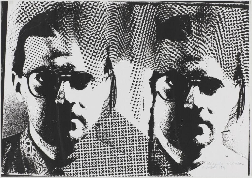 Bruno Munari, Xerografia originale, 1991