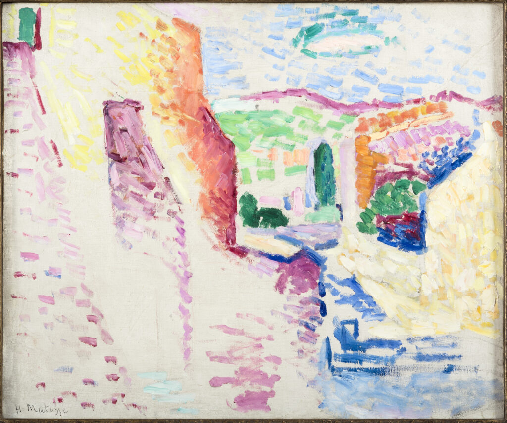 Exposition Matisse en Corse au Musée de la Corse - Collioure, rue du soleil