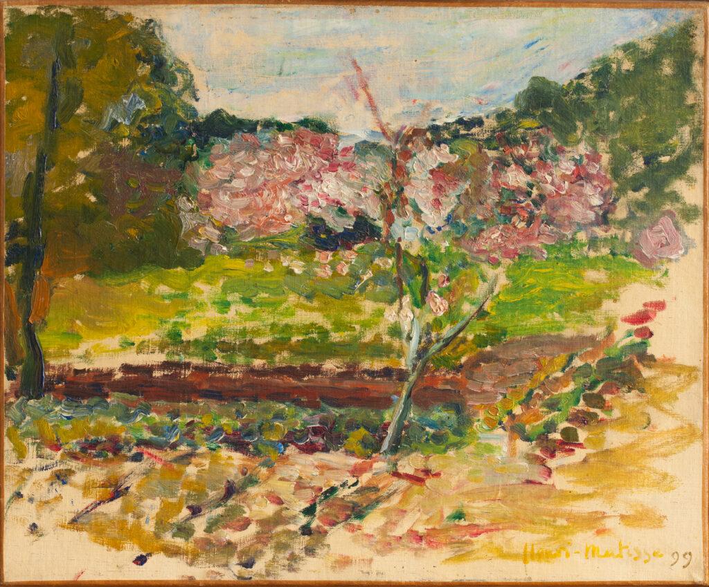 Exposition Matisse en Corse au Musée de la Corse - Pêcher en fleurs