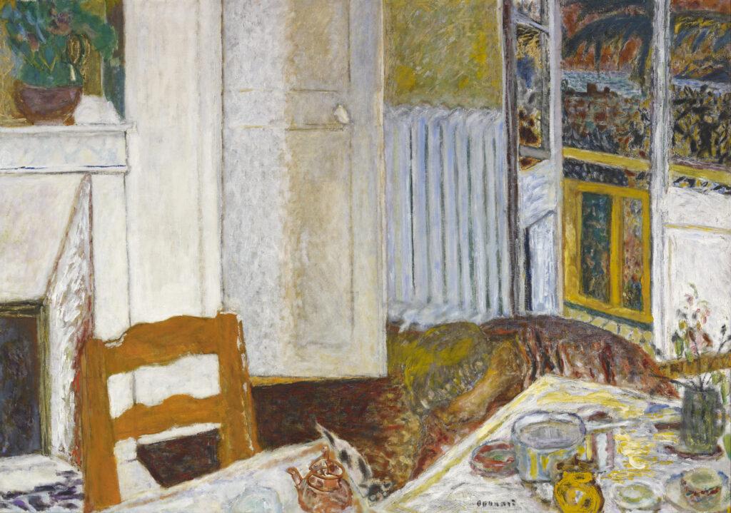 Pierre Bonnard, Intérieur blanc, 1932