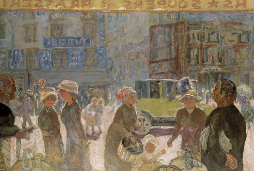 Pierre Bonnard, La Place Clichy, 1912