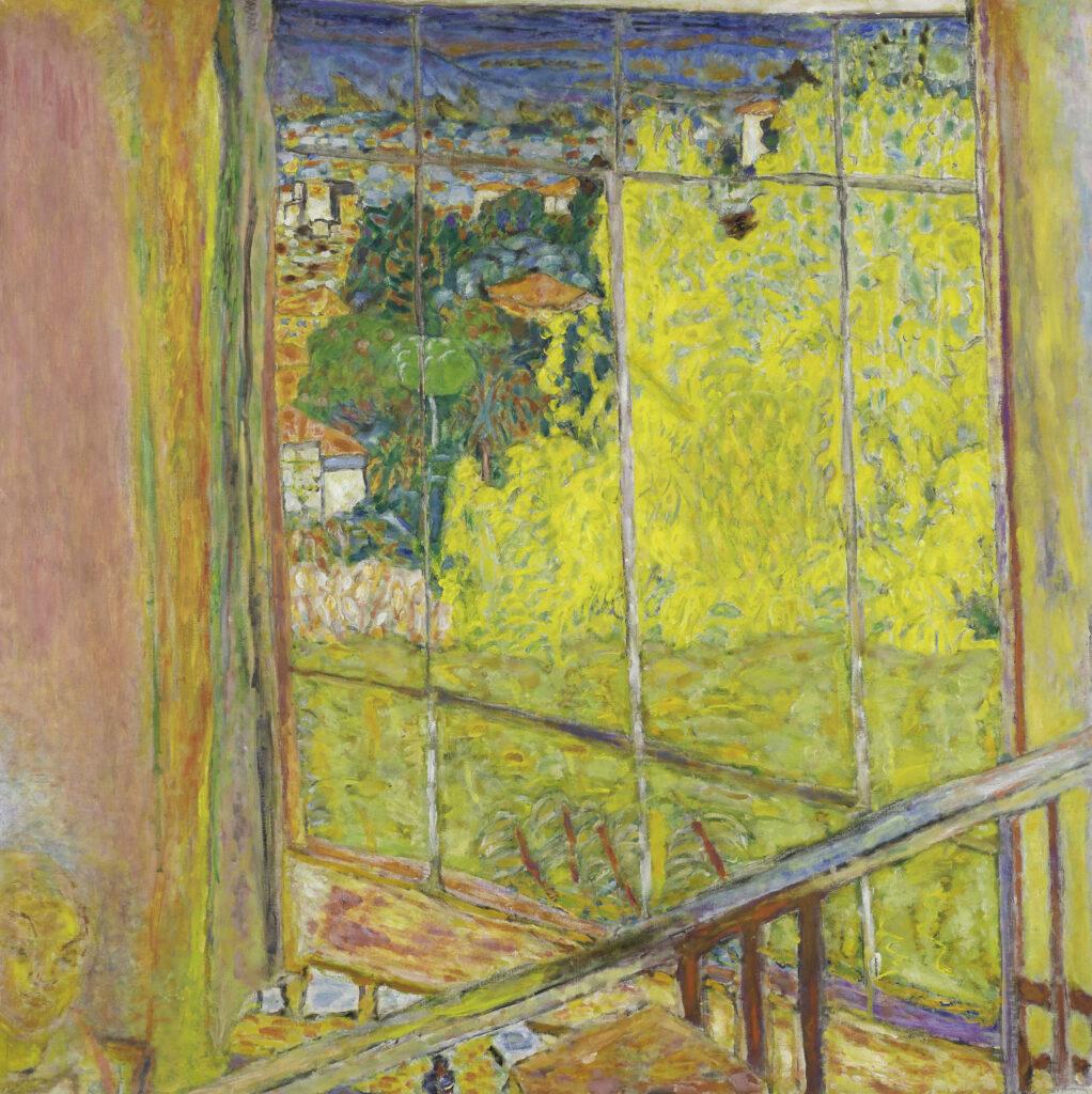 Pierre Bonnard, L'atelier au mimosa, 1939-1946