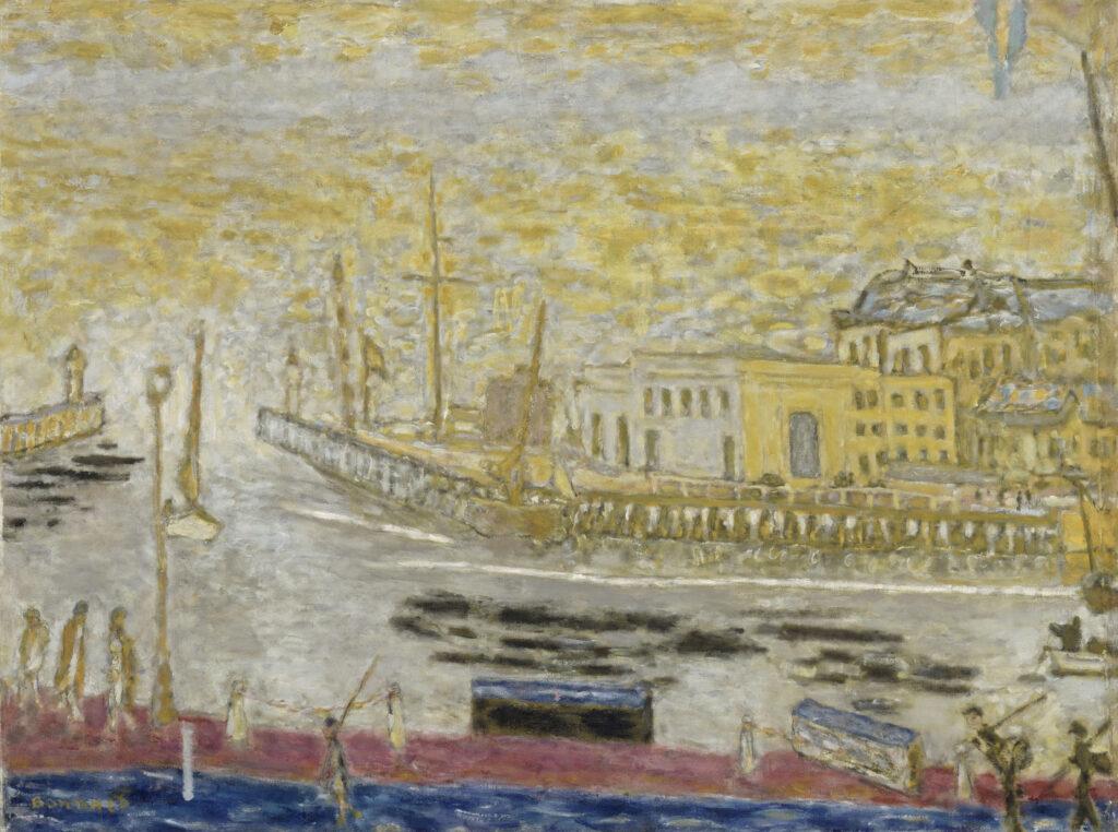 Pierre Bonnard, Trouville, la sortie du port, entre 1938 et 1945