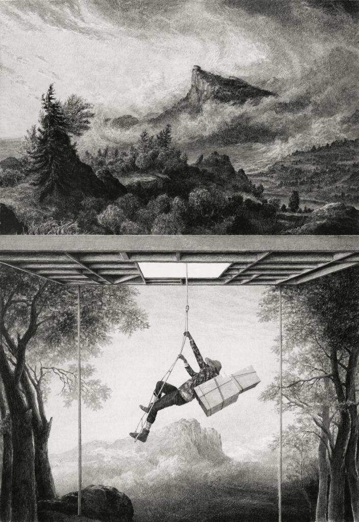 Ethan Murrow, Flora Boundary, 2021