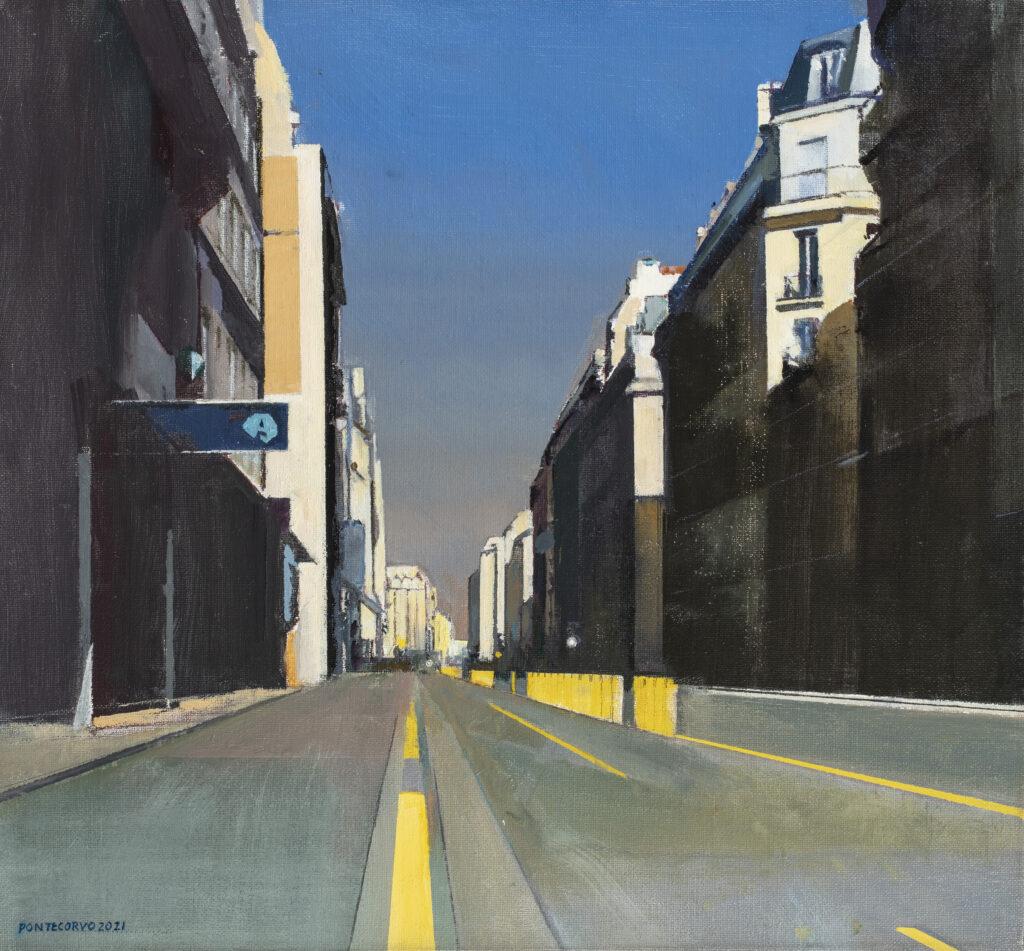 Alain Pontecorvo, Rue de Vaugirard déserte