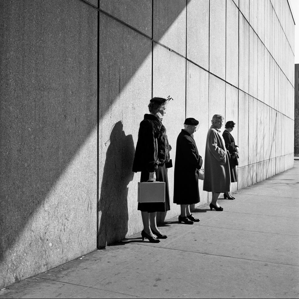 New York, 31 octobre 1954, Vivian Maier 300 dpi