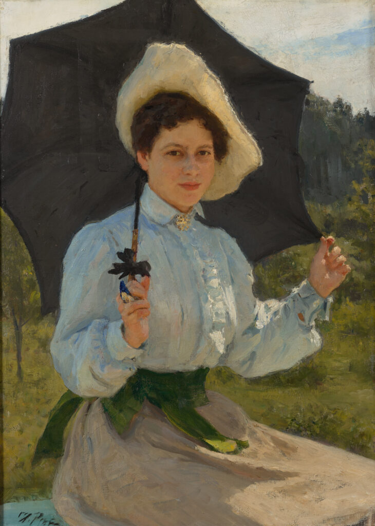 Ilya Répine, Au soleil, 1900