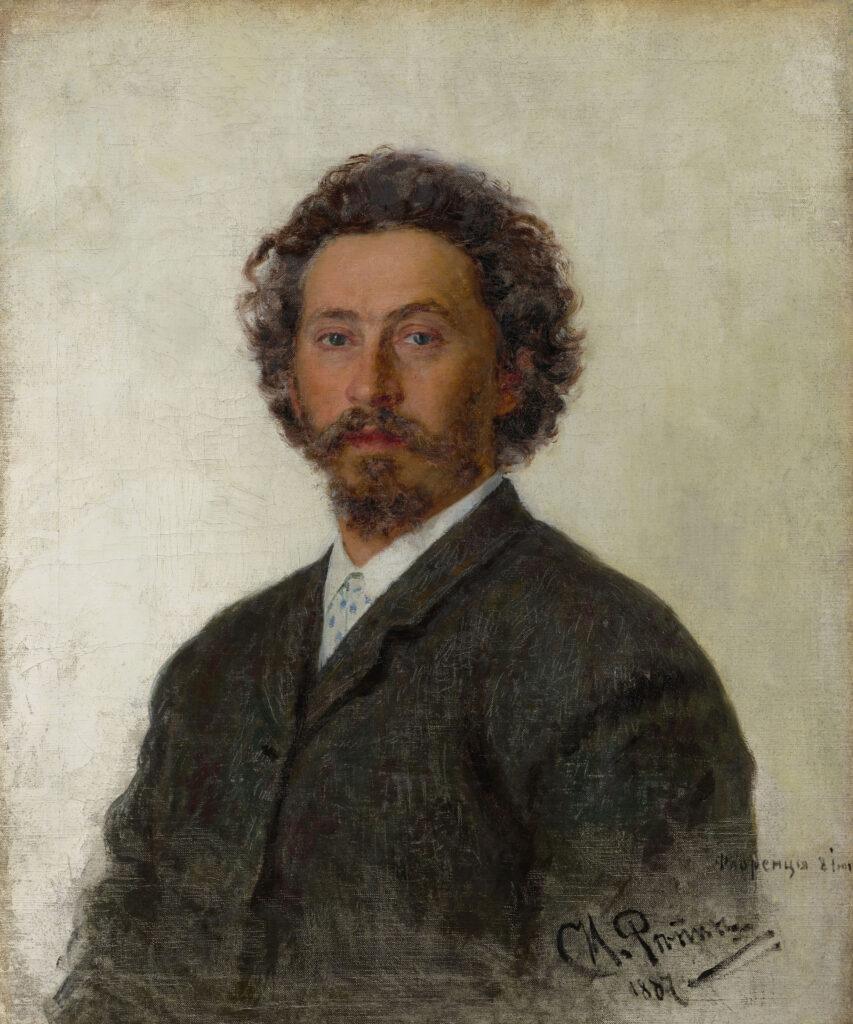 Ilya Répine, Autoportrait, 1887