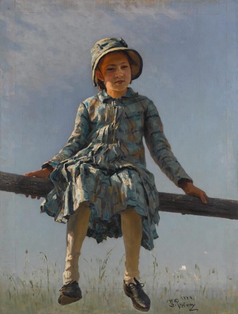 Ilya Répine, Libellule, 1884