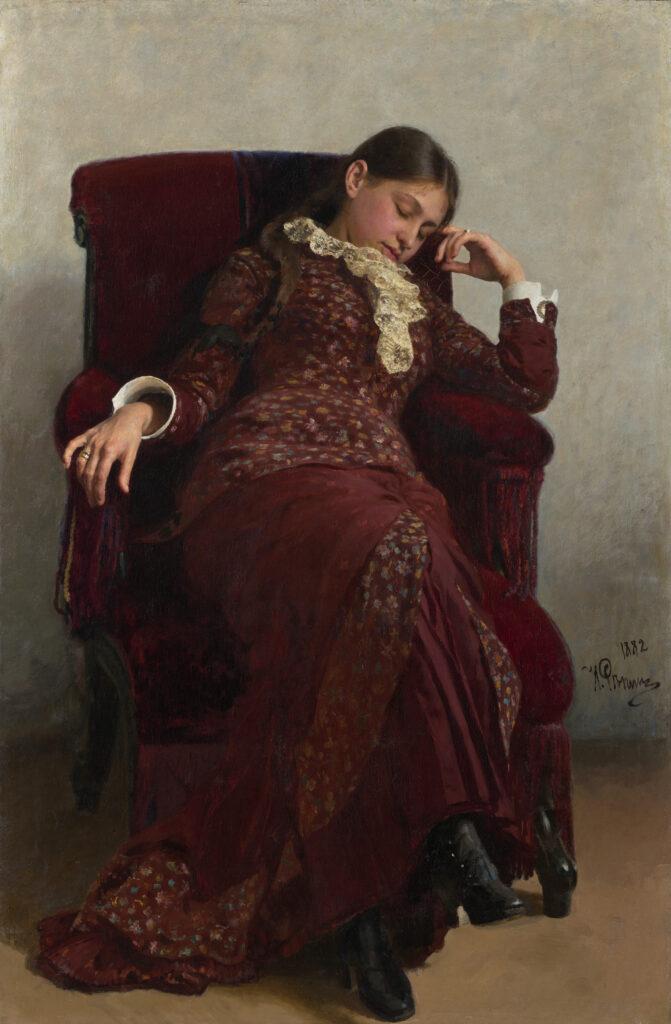 Ilya Répine, Repos, 1882