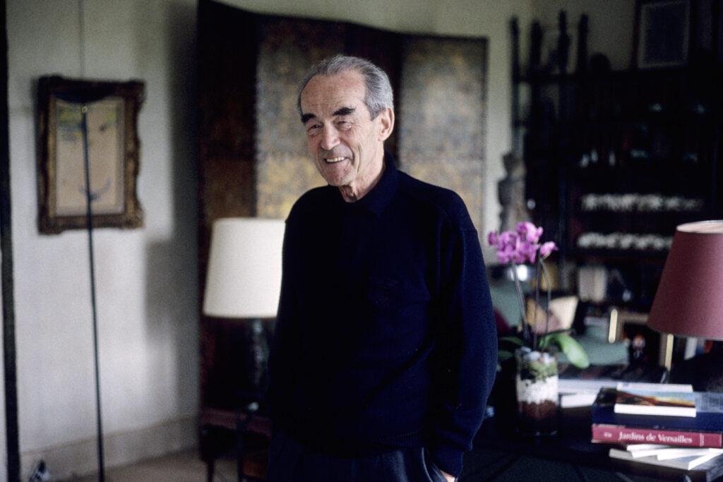 Portrait de Robert Badinter (lawyer) 2005