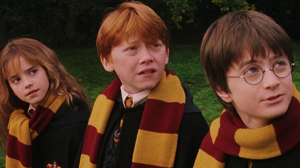Harry, Ron, et Hermione