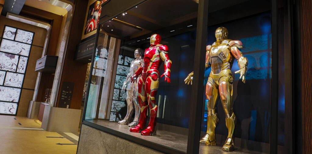 Armures d'Iron Man