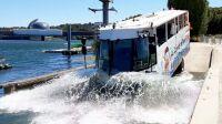Le bus Amphibie prêt au grand splash !