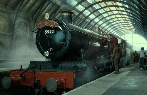 Le Poudlard Express voie 9¾
