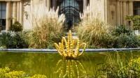 Le Théorème de Narcisse au Petit Palais - Jean-Michel Othoniel, Gold Lotus, 2019. Photo Claire Dorn, courtesy of the Artist & Perrotin. © Jean-Michel Othoniel Adagp, Paris, 2021