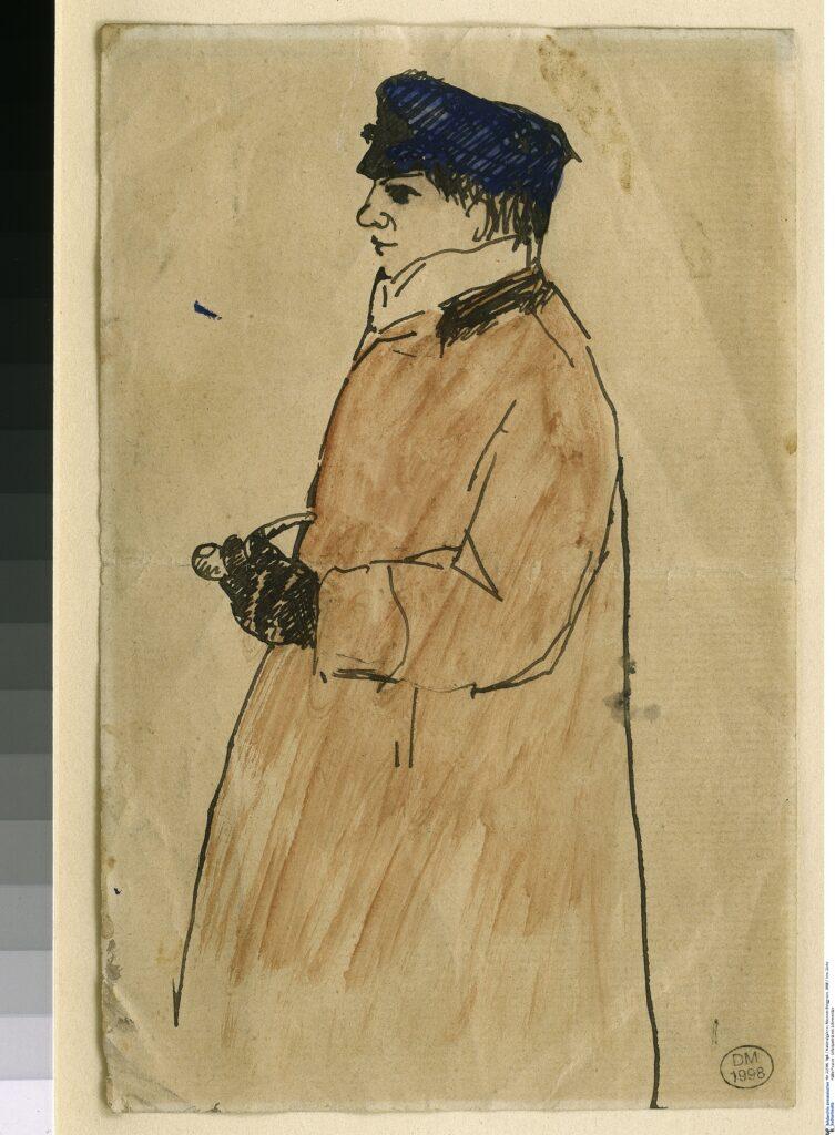 Picasso, Autoportrait à la pipe