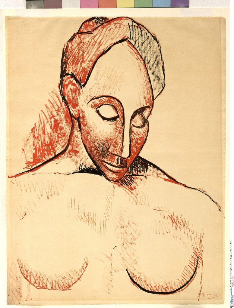 Picasso, Buste de femme