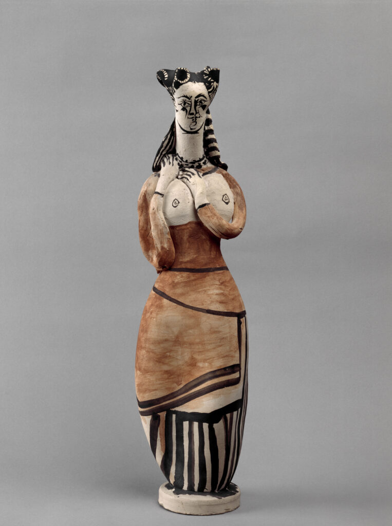 Picasso, Femme à la mantille