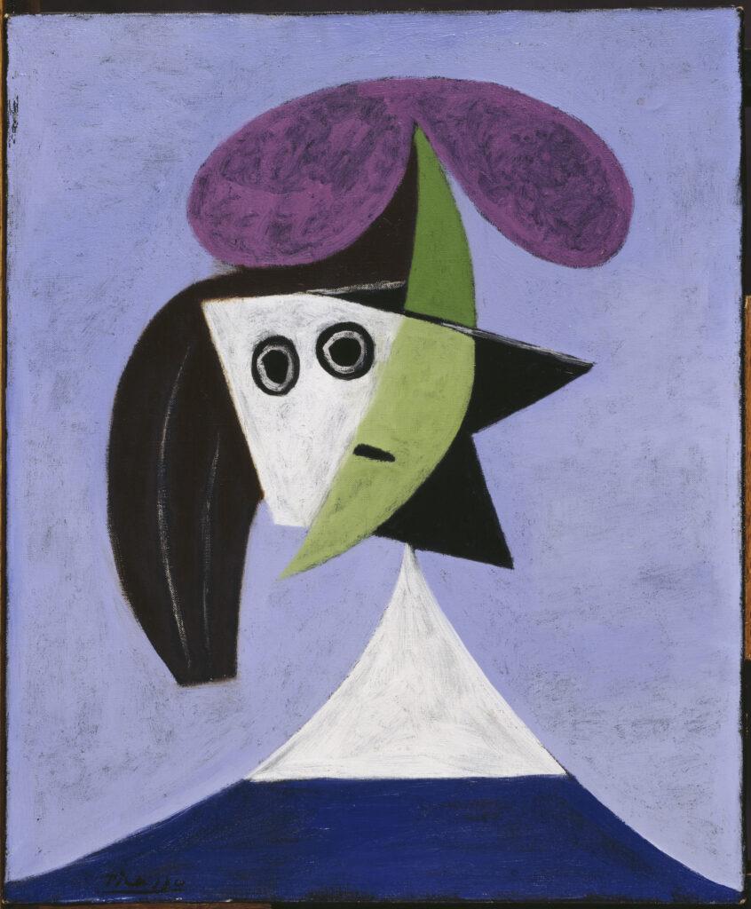 Picasso, Femme au chapeau
