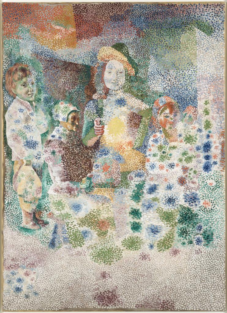 Picasso, Le retour du bapteme
