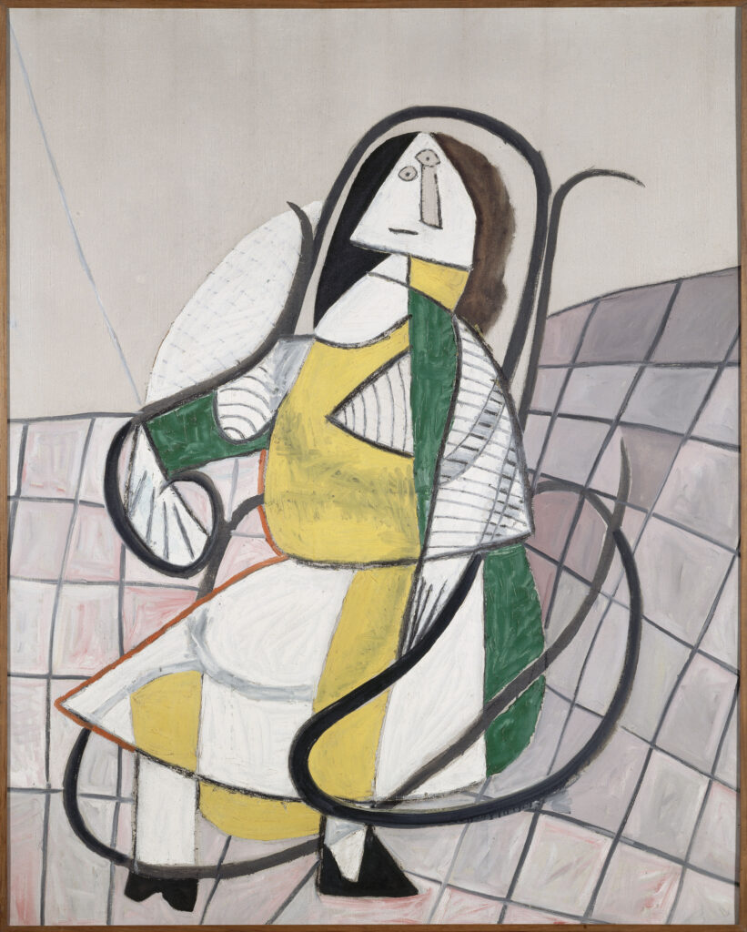 Picasso, Le rocking chair