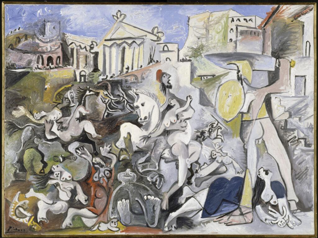 Picasso, L'enlèvement des sabines