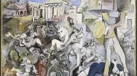 Les Louvre de Picasso exposition au Musée du Louvre de Lens - l'enlèvement des sabines-© Succession Picasso 2021 © Centre Pompidou, MNAM-CCI, Dist. RMN-Grand Palais Christian Bahier Philippe Migeat