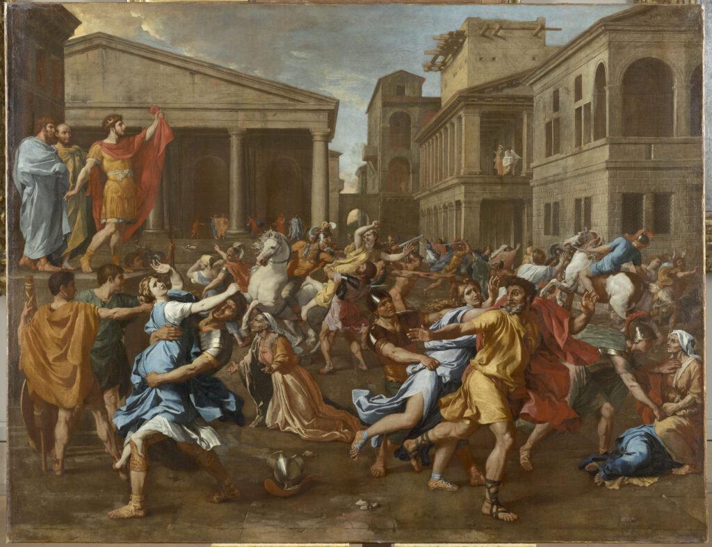 Nicolas Poussin, L'enlèvement des sabines