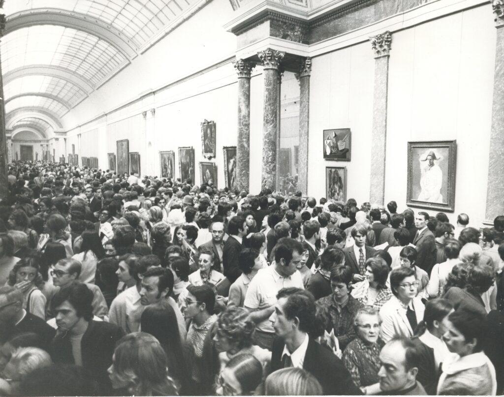 Pierre Colacicco, exposition picasso de 1971 dans la grande galerie