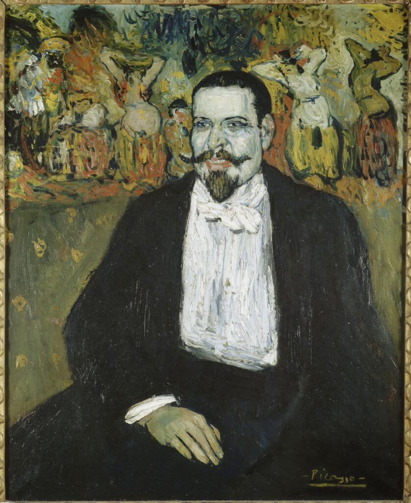 Picasso, Portrait de M.Gustave Coquiot