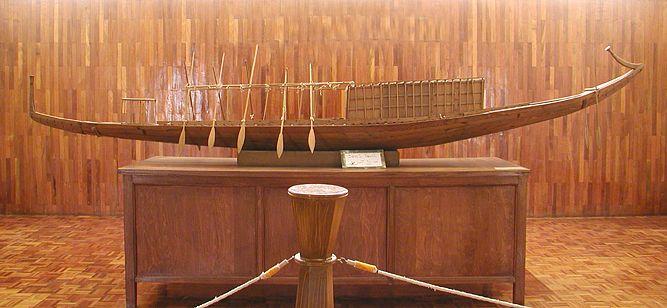 Maquette de la barque