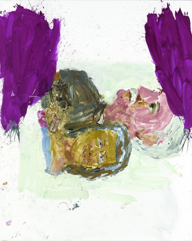 Georg Baselitz, Anxiety I (Korzhev), 1999