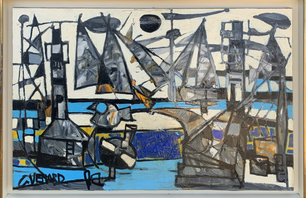 SM'ART Aix, Galerie Schanewald, Claude Venard