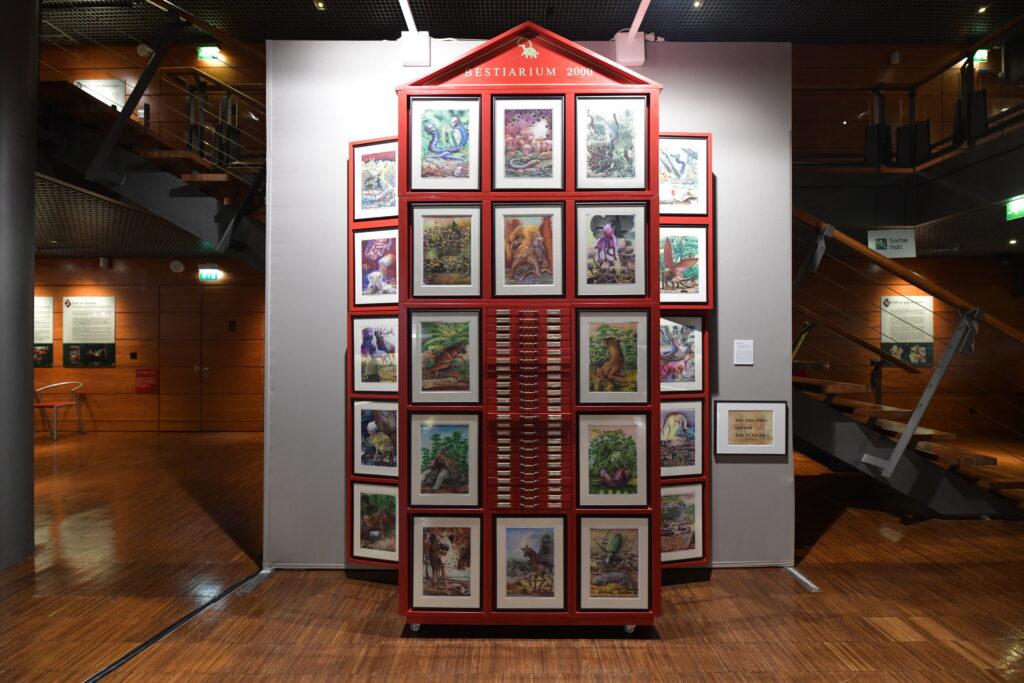 Vue de l'édition 2021 de la Biennale d'Issy