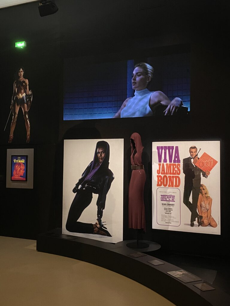 Vue de l'exposition Cinémode, Jean Paul Gaultier, Cinémathèque (2)