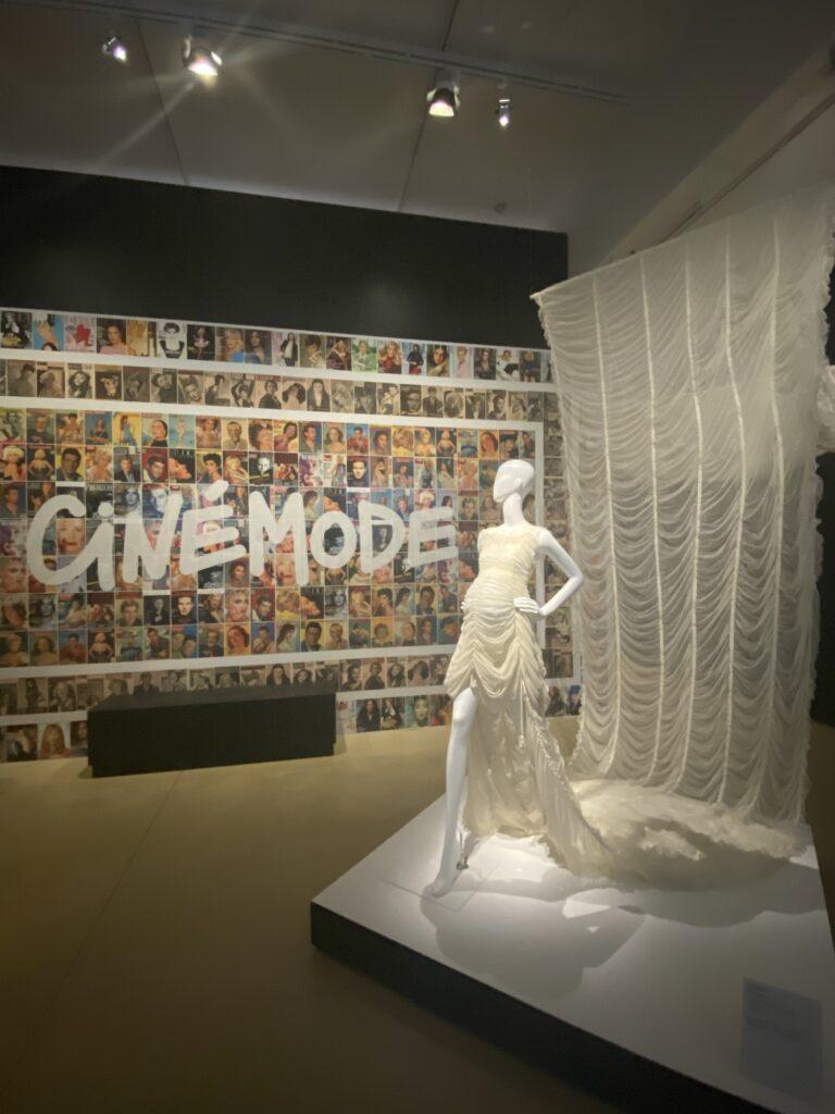 Vue de l'exposition Cinémode, Jean Paul Gaultier, Cinémathèque (21)