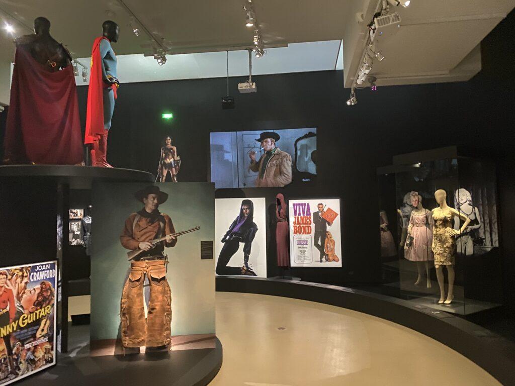 Vue de l'exposition Cinémode, Jean Paul Gaultier, Cinémathèque (3)