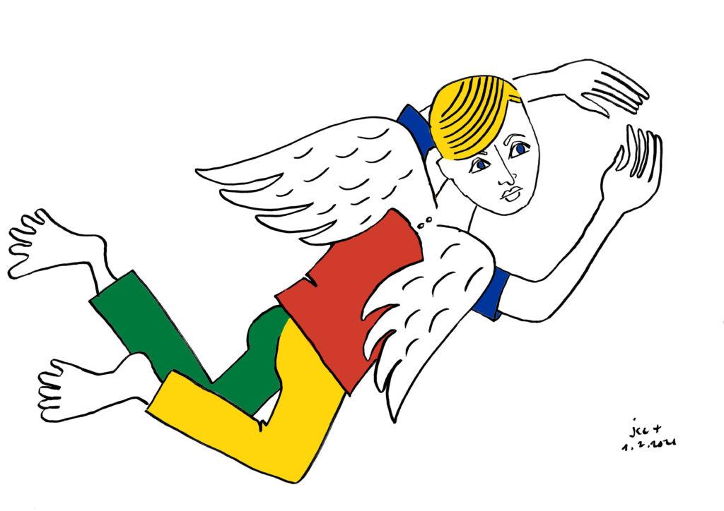 Ange, nouvelles ailes, Le Peuple de demain, Jean-Charles de Castelbajac