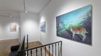 Vue de l'exposition Dragana Markovic à la galerie Boris Paris
