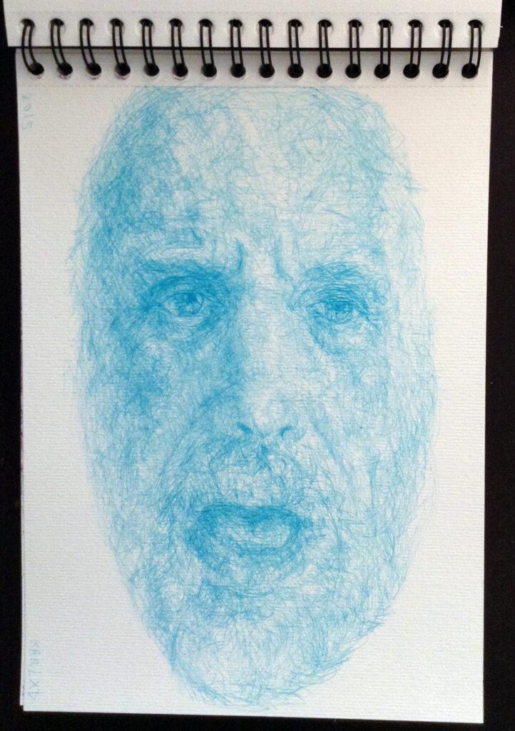 Karl Beaudelere, Entité bleu clair, 2015