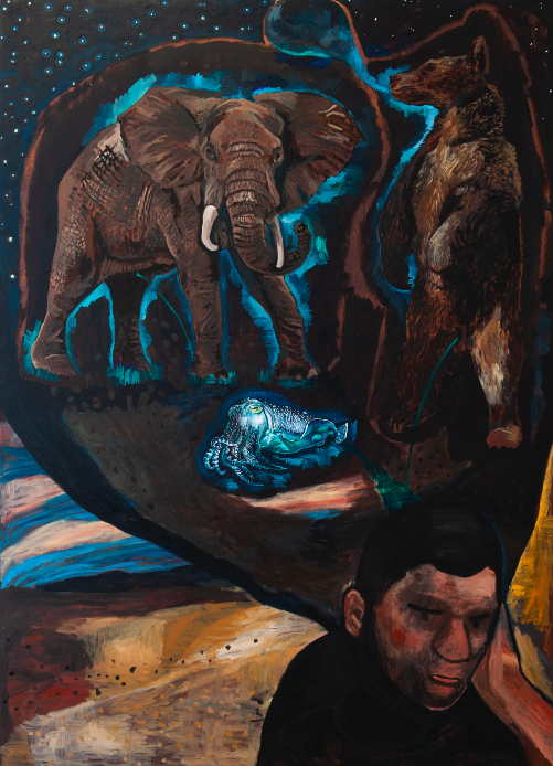 La Valise d'Orphée de Damien Deroubaix